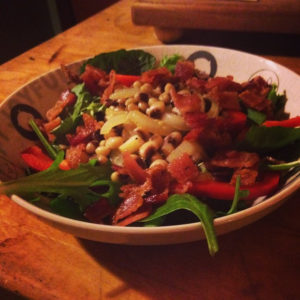 salade bacon