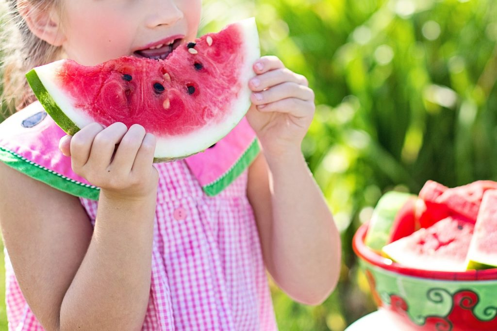 Profitez de fruits frais comme dessert