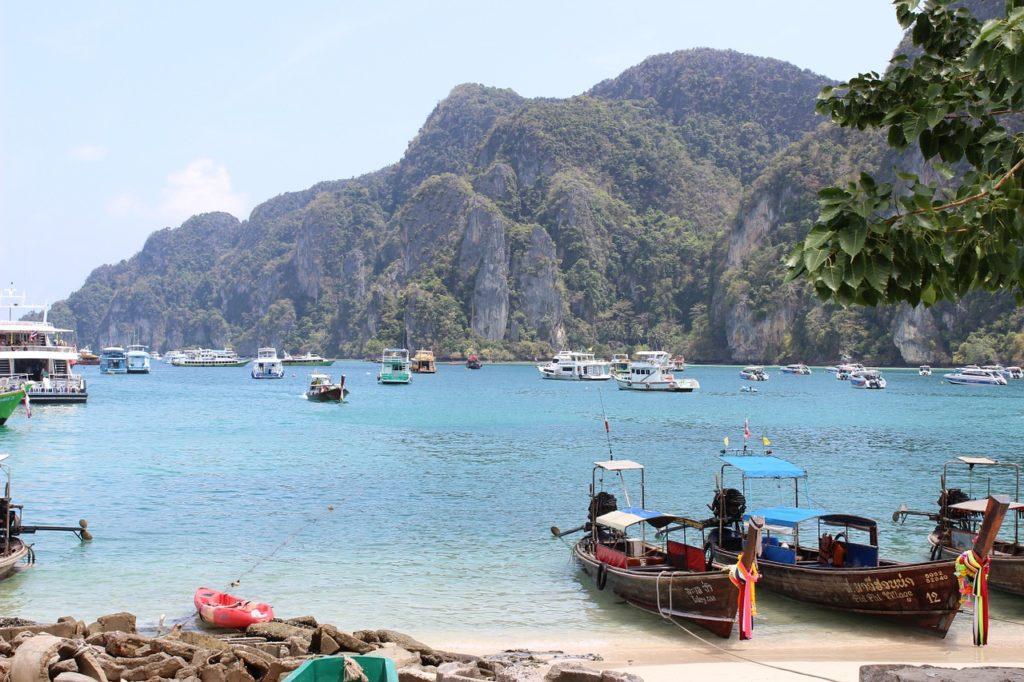 La plage Phi Phi Don Thaïlande
