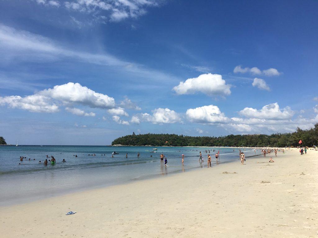 La plage de Phuket Thailand